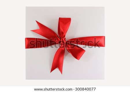 Ribbon Tied Bow