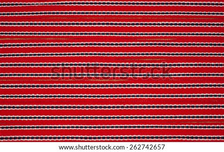 ribbon with red ornament background