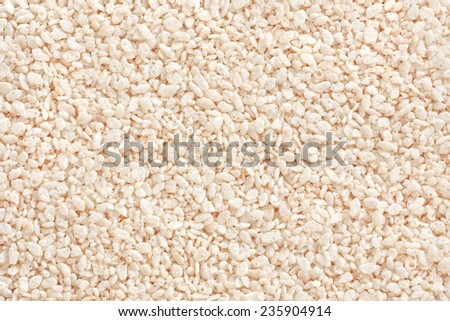 Rice cereal background. - stock photo