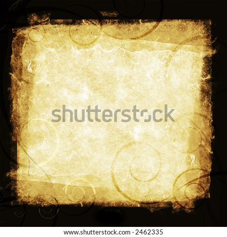 Rice Paper based Border