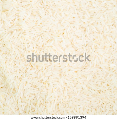 Rice texture using as background - stock photo
