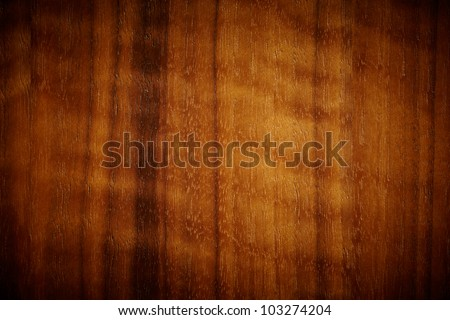 Rich dark wood grain texture - stock photo