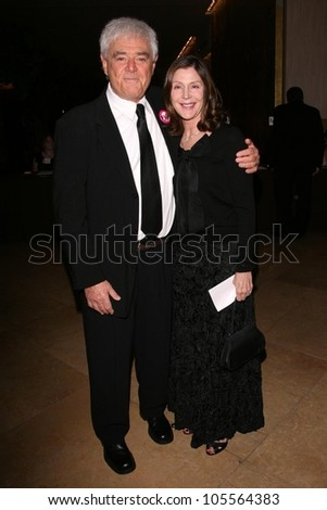 Richard Donner and Lauren Shuler Donner at the 59th Annual ACE Eddie Awards. Beverly Hilton Hotel, Beverly Hills, CA. 02-15-09