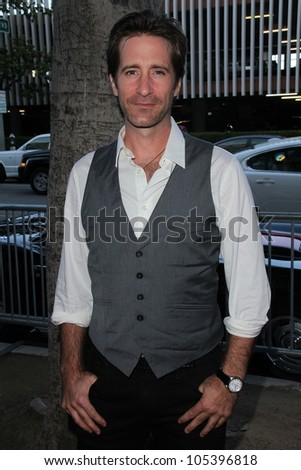"Richard Gunn at the World Premiere of ""For The Love of Money,"" Writers Guild Theater, Beverly Hills, CA 06-05-12"