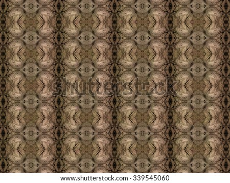 Richly artistic seamless pattern with  fabric texture - stock photo