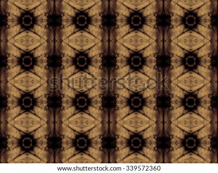 Richly textured seamless pattern with classical modern colorization - stock photo