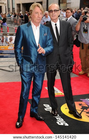 "Rick Parfitt and Francis Rossi of Status Quo arrives for the ""Bula Quo"" premiere at the Odeon West End, Leicester Square, London. 01/07/2013"