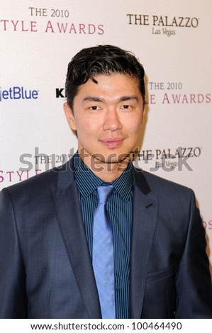 Rick Yune at the 2010 Hollywood Style Awards, Hammer Museum, Westwood, CA. 12-12-10