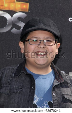 "Rico Rodriguez at Cartoon Network's first ever ""Hall Of Game Awards,"" Barker Hanger, Santa Monica, CA. 02-21-11"