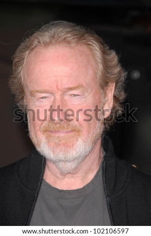 "Ridley Scott at ""The A-Team"" Los Angeles Premiere, Chinese Theater, Hollywood, CA. 06-03-10"