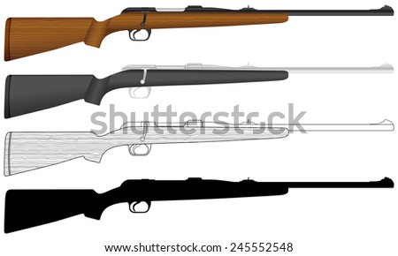 rifle illustration.