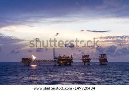 rig - stock photo