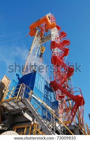 Rig. - stock photo