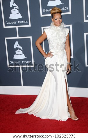 Rihanna  at the 52nd Annual Grammy Awards - Arrivals, Staples Center, Los Angeles, CA. 01-31-10