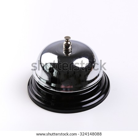 Ring bell on a white background