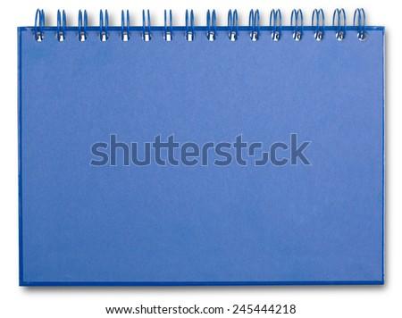 Ring binder - stock photo