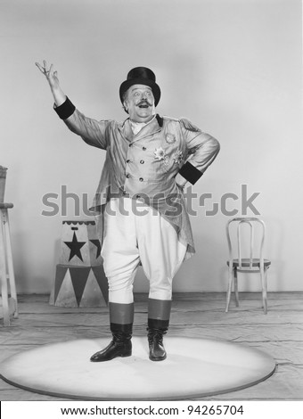 RINGMASTER - stock photo
