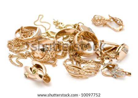 Rings and ear-ring