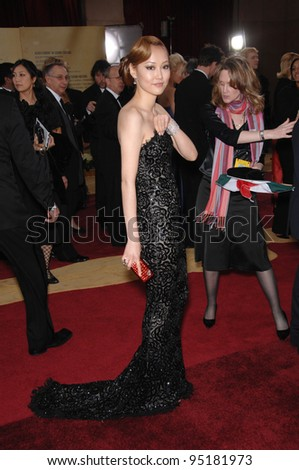 Rinko Kikuchi at the 79th Annual Academy Awards at the Kodak Theatre, Hollywood. February 26, 2007  Los Angeles, CA Picture: Paul Smith / Featureflash