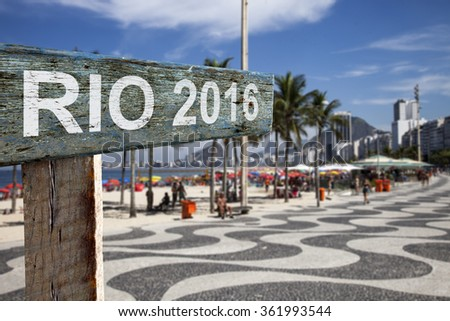 Rio 2016 - stock photo