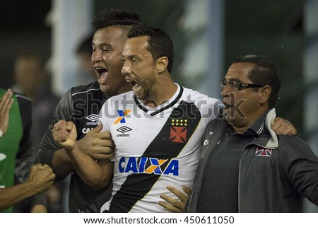 Rio de Janeiro, Brasil - july 09, 2016: Nene player in match between Vasco and Brasil by the Brazilian championship in the Sao Januario Stadium