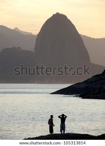 Rio de Janeiro Breathtaking view - stock photo