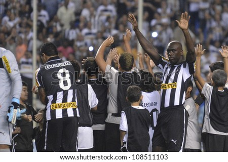 RIO DE JANEIRO - JULY 22: Seedorf payer  during the Brazilian Championship match between Botafogo vs Gremio at Engenhao Stadium on July 22, 2012 in Rio de Janeiro, Brazil.