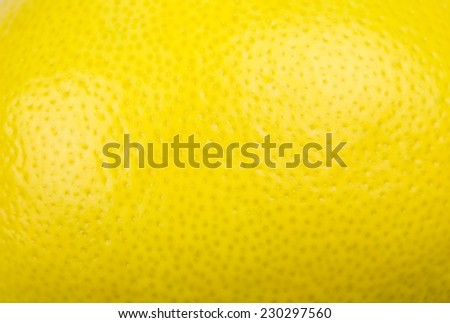 Ripe Lemon Background