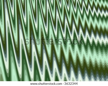 Ripple Fractal - stock photo