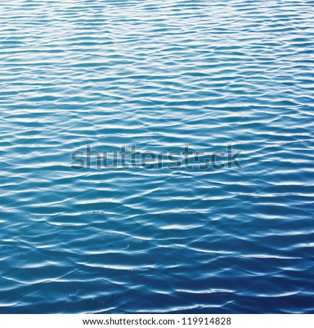 ripple surface water background - stock photo