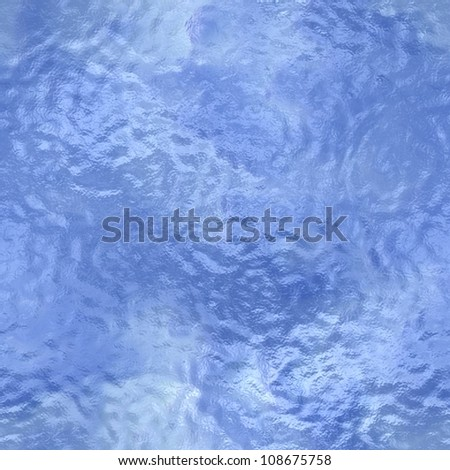 Rippling blue water seamless background