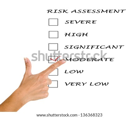 Risk assessment checkboxes