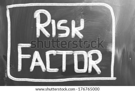 Risk Factor Concept - stock photo