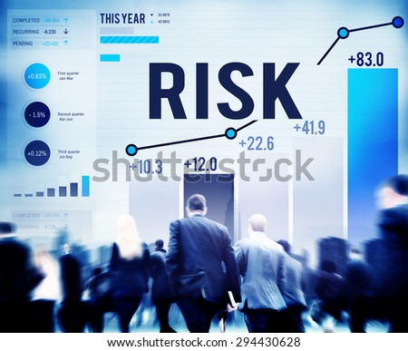 unsteady people. risk management business investment unsteady concept people l