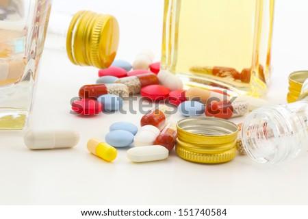 Risk of addiction  - stock photo
