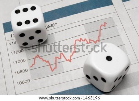 Risky Business - stock photo