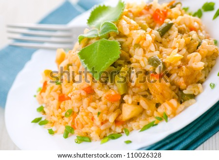Risotto - stock photo