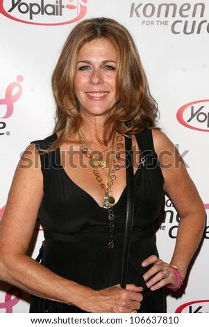 Rita Wilson  at the concert to promote the 10th Anniversary of Yoplait's Save Lids To Save Lives Program. The Wiltern Theatre, Los Angeles, CA. 10-10-08