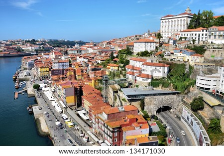 River Douro and the city of Porto