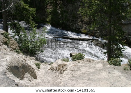 River in Yellowstone National Park