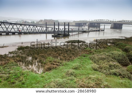 River medway - stock photo
