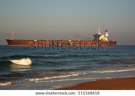 River Princess on Candolim beach, Goa, India - stock photo