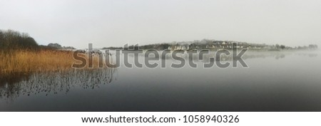 River Shannon Panorama in Winter