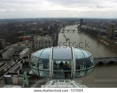 River Thames from the British Airways London Eye