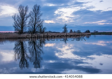 Riverbank Reflection