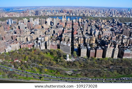 Riverside Park & West Side, New York - stock photo
