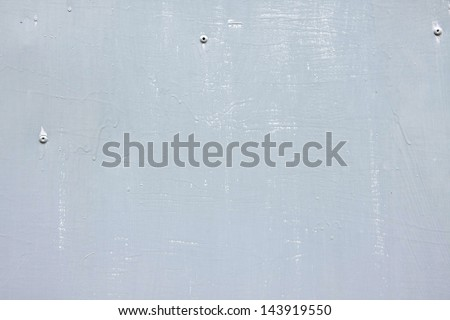 riveted gray steel background with space for text - stock photo