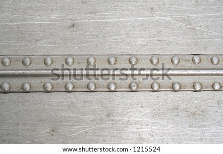 Rivets on a line