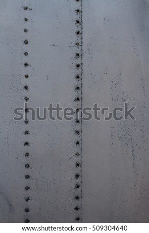 Rivited sheet metal