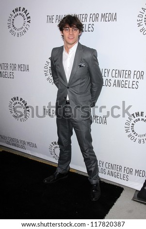 RJ Mitte at the Paley Center Annual Los Angeles Benefit, The Lot, West Hollywood, CA 10-22-12